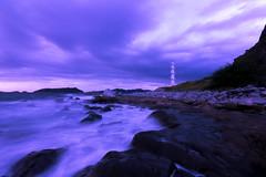 Sisiman Lighthouse (felixtgomezjr) Tags: lighthouse landscape sky clouds ocean beach sea nature