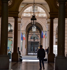 Turin, Italy (aljuarez) Tags: europa europe italia italien italy piemonte piamonte piémont piemont piedmont torino turin turín passage couvert pasaje comercial einkaufspassage galleria san federico