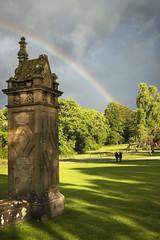 Hoddom Castle (TrotterFechan) Tags: hoddom castle ecclefechan camping caravan campsite rainbow