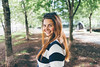 M (borishots) Tags: portrait portraits people girl woman bokeh bokehlicious bokehwhore sony sonya7 sonyfe28mmf2 28mm wideopen wideangle wide smile face eyes hair happy happiness analog retro vintage trees green