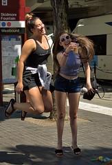 Jump Shot (swong95765) Tags: woman females ladies jumping smiling happy fun