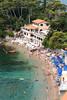 Umbrellas on Tellaro Bay (T Ironman) Tags: fiascherino liguria italy it beach beautifulbeaches sunshine italia bellaitalia italians