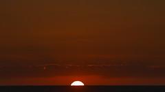 sunset (Darek Drapala) Tags: sun sky sunset silhouette skyskape nature sea seashore seascape red wide panasonic poland polska panasonicg5 baltic
