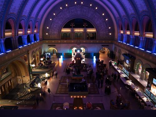 Union Station Hotel Lobby at night