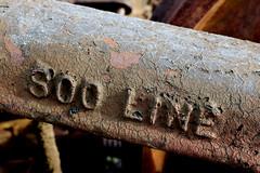 Soo Line Truck (Laurence's Pictures) Tags: north dakota railroad museum train railway transportation freight bismarck burlington northern pacific soo line historic car