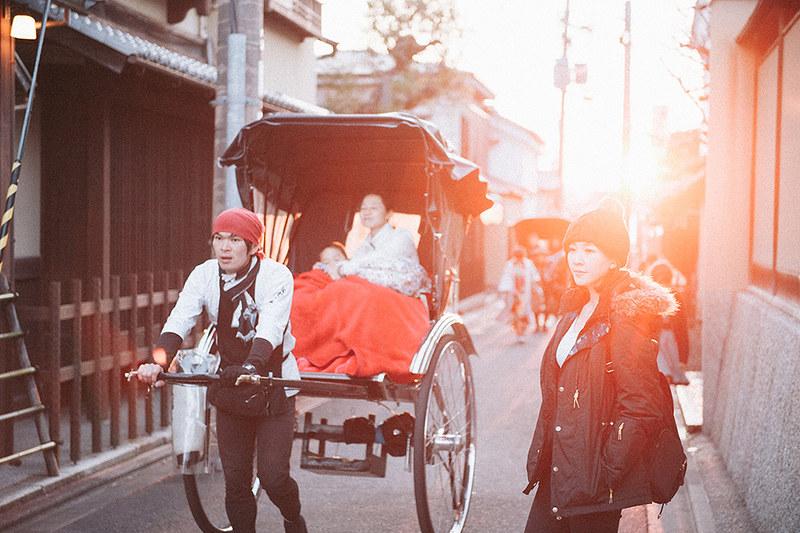 [京都拍婚紗]二寧坂的夕陽