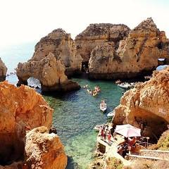 Ponta da Piedade. Lagos. Portugal (Rubem Jr) Tags: portugal praia beach ilovenature natural natrureza water waterscape landscape paisagem europe europa