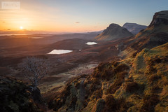 Quiraing Sunrise [Explored} (SLP_Photography) Tags: isle skye quiraing sunrise scotland scottish landscape haze glow sunlight misty epic canon 5d4 1740mm