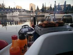 Iltapala kotisatamassa #näsijärvi