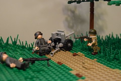 September 17, 1944 - Operation Market Garden (♠York♠) Tags: lego ww2 wwii world war 2 moc allies axis american german netherlands holland dutch operation market garden 101st airborne afol