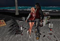 Last Friday night (eloen.maerdrym) Tags: peachesncream epiphany roluposes stealthic lg theavenue justice glamaffair gacha frat secondlife eloensotherworld beach couples