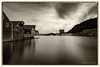 Egersund Slow Mo II (Normann Photography) Tags: 180sec 3minutes egersund eigersund leefilters port rogaland architecture city cityscape harbor longexposure seascape norway no