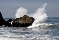 Crash! (nrg_crisis (off and on)) Tags: california crash waves blacksandsbeach pacificocean sheltercove