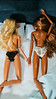 Randi Lavonne and Scarllet Brain (Fake Royalty) Tags: barbie basics collection 01 model 08 heidi klum
