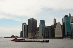 Barging In (monkeyiron) Tags: newyork nyc brooklyn manhatten hudson