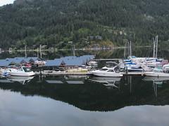 Boats at the marina (jamica1) Tags: nelson bc british columbia canada kootenay lake boat