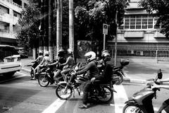 Vroom Vroom (Daniel Y. Go) Tags: sony sonyrx100m4 rx100m4 philippines manila pinas bw mono motorcycle