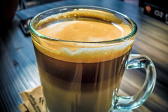 Drink your coffee! ☕️ (stratman² (2 many pix!)) Tags: canonphotography powershots120 cappuccino coffee beverage food wangsawalk cafe shallowdof creativecommons