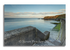Steps To The Sea (Steven Peachey) Tags: seascape sea sky clouds seaham beach coast coastline northeastcoast northeastengland uk canon6d ef1740mmf4l lee09gnd leefilters lightroom stevenpeachey
