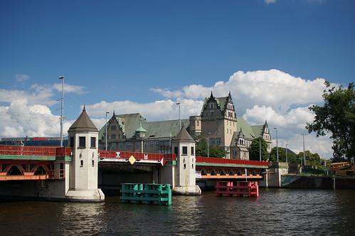 Am Hafen Stettin