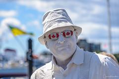Victoria Busker Festival 2017: Plaster Man (Cameron Knowlton) Tags: canada buskers 2017 plasterman victoria busker festival nikon street performers bc d610 plaster man performer