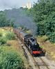 Grey Smoke Near Ingrow. (Neil Harvey 156) Tags: steam steamloco steamengine steamrailway railway 1300 woodhouselane ingrow keighleyworthvalleyrailway kwvr worthvalleyrailway lancashireyorkshirerailwayclass27 aclass lancashireyorkshirerailway ly aspinall