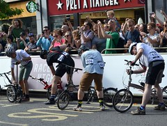 2017-06-10: Wheels Out (psyxjaw) Tags: london londonist nocturne bike race cycling cycle event city cityoflondon racing brompton folding foldingbike