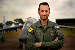 French pilot: Capitaine D. Majster (PentlandPirate of the North) Tags: riat airshow fairford tattoo alphajet pilot france french instructor portrait candid fouga dmajster capitaine larmeedelair man lhomme tours