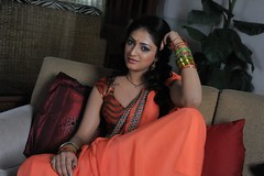 Actress Haripriya Saree Hot Photos in Abbai Class Ammai Mass
