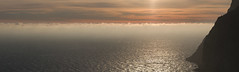 Sunset over Black Sea in windy February (Twilight Tea) Tags: february 2017 russia crimea россия крым aja balaklava айя балаклава