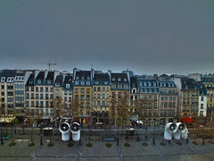 Little houses in Paris (Izzy's Curiosity Cabinet in Venice Mood) Tags: paris france beaubourg quartier des halles
