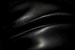 Heavy Folds (niKonJunKy22) Tags: macromondays texture gloves boxing black training workout dark folds macro nikon