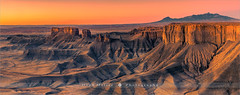 The Badlands - Utah - USA (~ Floydian ~ ) Tags: henkmeijer floydian photography thebadlands utah unitedstates american southwest desert sunrise morning dawn henrymountains landscape landscapes stitching wideview pano panorama panoramic view leefilters canon canon5dmarkiv