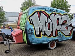Roosendaal The Loods (Akbar Sim) Tags: roosendaal theloods holland nederland netherlands graffiti streetart akbarsim akbarsimonse caravan mopz
