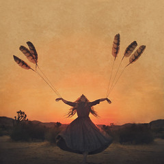 season changing (brookeshaden) Tags: brookeshaden joshuatree fineartphotography fineartjoshuatree fairytalephotography fantasyphotography conceptualart fineart