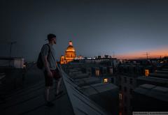 St. Petersburg (Dmitry Kamchatka) Tags: nikond5200 nikon nikkor sunset sun ontheroof tokina1017 tokina1017mm tokina