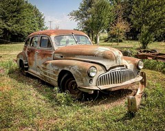 Old Glory (arrjryqp6) Tags: buick buickspecial rusty car vintage classic oldcars