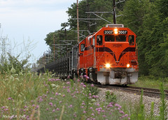 CSS 2007 @ Springfield Township, IN (Michael Polk) Tags: chicago south shore bend railroad freight welded rail train continuous nictd 1000 gp382 michigan city indiana springfield township