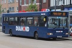 Diamond Dennis Dart SLF/Plaxton Pointer 2 20850 (KU52 RYK) (Redditch) (john-s-91) Tags: diamond dennisdartslf plaxtonpointer2 20850 ku52ryk solihull route30