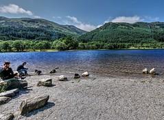 Loch Lubnaig,Trossachs,Scotland (Phelan (Shutter Clickin) Goodman) Tags: loch lubnaig stirlingshire trossachs scotland warm sunny people panasonic gx80 family landscape