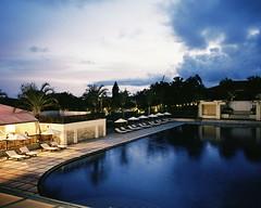 Pool (hisaya katagami) Tags: rollei35t 135film 35mmphotography filmphotography pool dusk