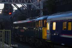 Stanier on the Sleeper (Cosmo's Train & Gig Photos) Tags: class86 86101 electrictractionltd gbrf sirwilliamastanierfrs eus londoneuston caledoniansleeper wcml westcoastelectric westcoastmainline euston london al6