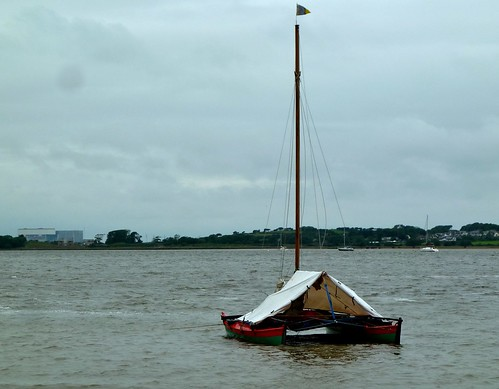 Star Catcher at anchor in the Lune