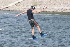 CFR0401 (Carlos F1) Tags: nikon d300 castelldefels ocp olimpiccablepark olimpic sport deporte water agua wakeboard wakeboarding wakesport wakeskate boardsport jump salto tabla surf surfing barcelona spain watersport acuatico