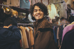 Vintage shopping with the fin.Vintage shopping with the fin. (Letselliott) Tags: backstage band bands behind scenes bts diary feature fin indie japan live london music photography portrait portraits thefin ロンドン 런던