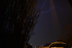 DSC_7605 (georgerocheleau) Tags: mesa arizona storm clouds rain lightning therebeastormabrewin