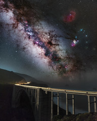 Bixby (Tarun Kotz) Tags: staradventurer sigmart bixbybridge bixby star adventurer simga bridge moon astro deepsky sky california ocean nightsky night cartraol