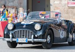 Mille Miglia, Gubbio 2017 (MikePScott) Tags: camera car events gubbio italia italy millemiglia nikon28300mmf3556 nikond600 tr3sports transport triumph umbria