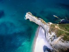 Normandy (mcalma68) Tags: etretat france normandie aerial ocean seascape drone mountains