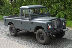 Landy Pick Up (Schwanzus_Longus) Tags: sehnde wehmingen german germany uk gb great britain british england english old classic vintage car vehicle pickup pick up truck land rover series iii 3